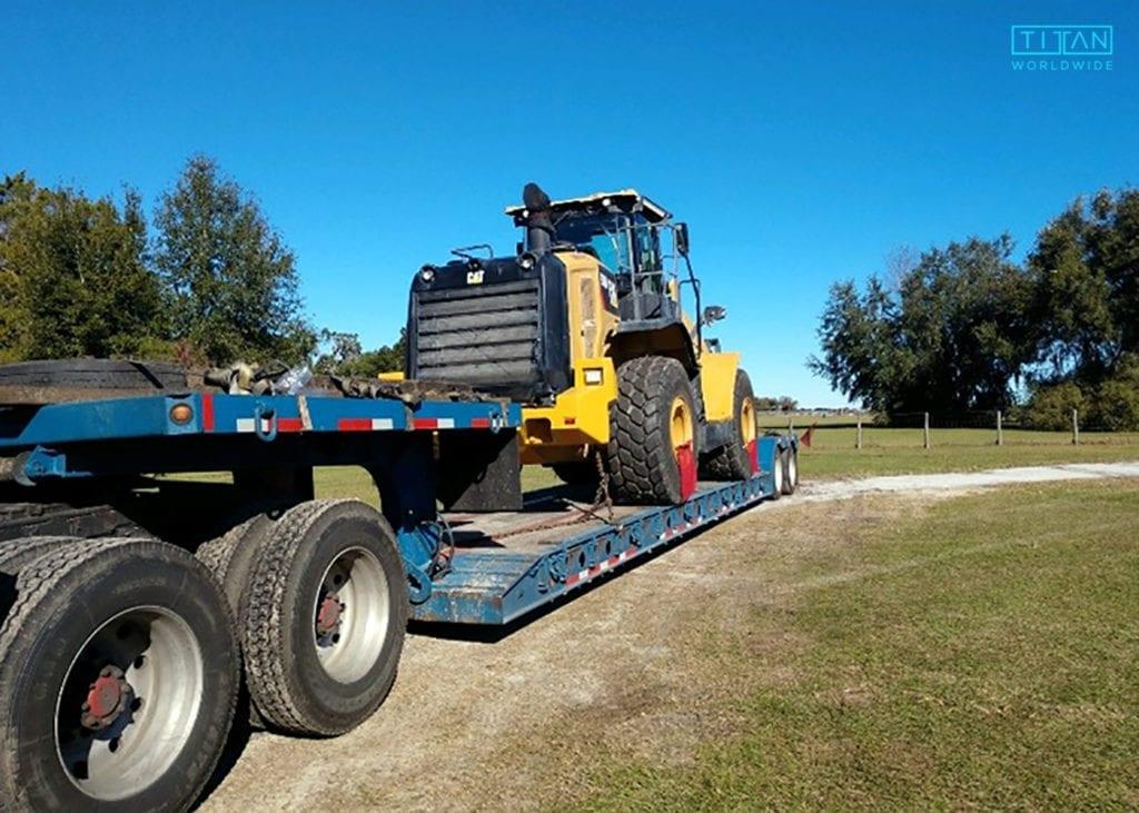 CAT Wheel Loader Transport | Heavy Haul | (888) 500-8884