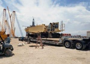 Demag 2500 Crane Transport | Titan Worldwide | (800) 500-8884