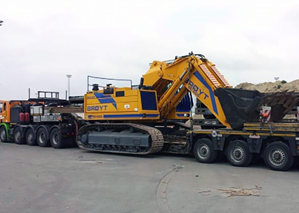 Mining Excavator Shipping | Titan Worldwide | (888) 500-8884