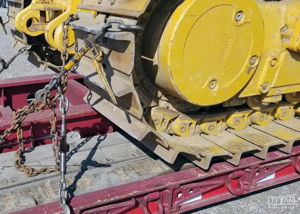 Heavy Construction Equipment Transport | Titan Worldwide | (888) 500-8884