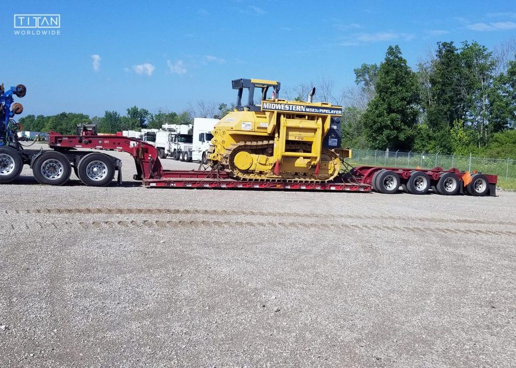 Bulldozer Transport | Titan Worldwide | (888) 500-8884